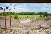 Hellenistic Theater. Dion, Pieria, Greece