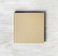 Square cover book