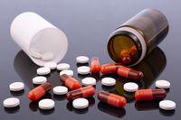 Pharmaceutical industry drugs pills vitamins bottle