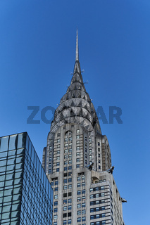 Das Chrysler Building in New York City