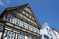 Rinteln - Old town houses, Germany