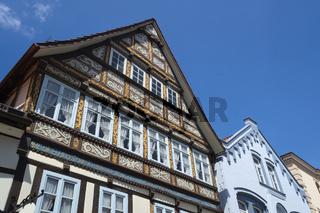 Rinteln - Altstadthäuser, Deutschland
