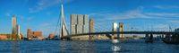 Rotterdam cityscape , Netherlands