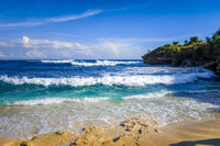 Dream beach, Nusa Lembongan island, Bali, Indonesia