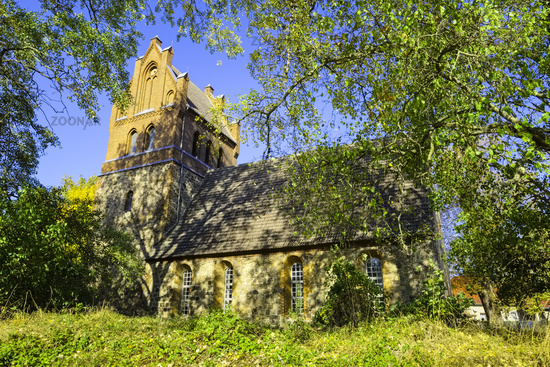 Church Gruental (Sydower Fliess), Brandenburg, Germany