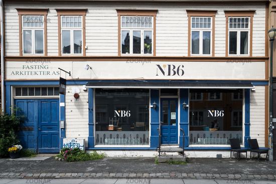 Old Town Bakklandet in Trondheim