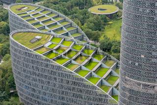 Tianfu International Finance Center in Chengdu - China