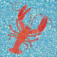 Red lobster mosaic