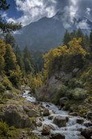 Baspa river, Chitkul, Himachal Pradesh, India