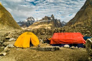 Camping in Karakoram
