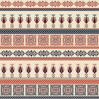 Palestinian embroidery pattern  107