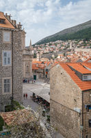 View of Dubrovnik Old town square