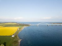 Fehmarn Bridge Aerial View