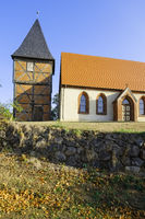 Church Sargleben near Karstaedt (Prignitz), Brandenburg, Germany