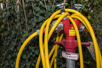 Hydrant - Water tap with water hose