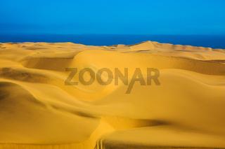 Unique giant sand dunes