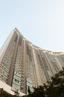 Big residential building in Hong Kong
