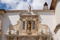 Entrance to the University of Coimbra in Portugal