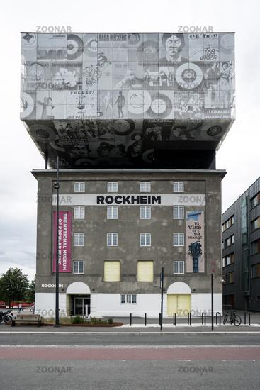 Rockmuseum Rockheim in Trondheim