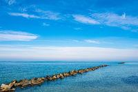 Ostseeküste auf dem Fischland-Darß in Wustrow