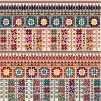 Palestinian embroidery pattern  117