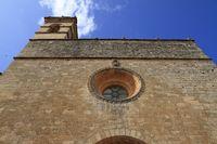 Convent de Sant Bernadí  in the heart of Petra village, Mallorca, Spain