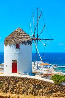 Windmilll in Mykonos