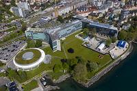 Hauptsitz des Schweizer Nahrungsmittelkonzerns Nestle S.A. am Genfersee