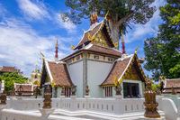 Wat Chedi Luang temple buildings, Chiang Mai, Thailand