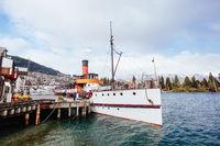 TSS Earnslaw in Queenstown New Zealand