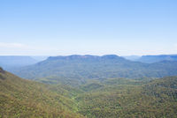 Landscape view of Kangaroo Valley, Australia
