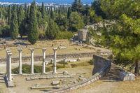 Corinthian Temple of Apollo Asklepion Kos Greece
