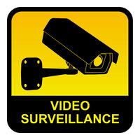 Video surveillance sign.eps