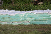 Sandbags Wall