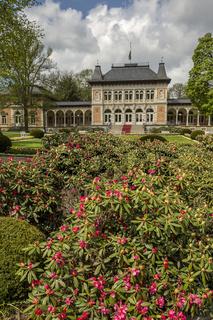 Königliches Kurhaus in Bad Elster, Sachsen, Vogtland, Deutschland, Europa