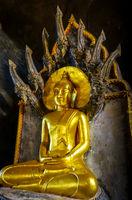 Buddha in Wat Suwan Kuha temple, Thailand