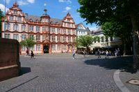 Cafe downtown Mainz