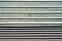 Railing struts cast shadows