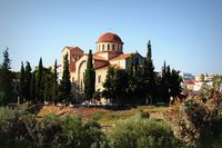 Holy Trinity Church near the Kerameikos Cemetery in Athens, Greece