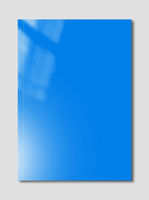 Blue Booklet cover template