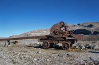 old railway crane