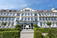 hotel, promenade, Kuehlungsborn, Mecklenburg-Western Pomerania, Germany, Europe