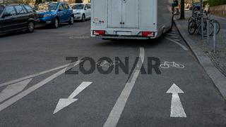 Verkehrsbehinderung