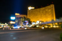 Las Vegas Blurred background night