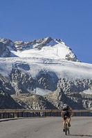 Radtour auf der Ötztaler Gletscherstrasse