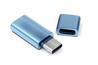 Blue usb-c flash drive