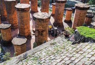 Cham towers of po Nagar.Vietnam