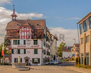 Restaurant zum Schiff, Romanshorn, Kanton Thurgau, Schweiz