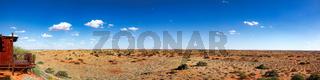 Panorama Kieliekrankie Wilderness Camp, Kgalagadi-Transfrontier-Nationalpark, Südafrika | Kieliekrankie Wilderness Camp, Kgalagadi Transfrontier National Park, South Africa
