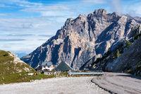 Dolomites Mountains, Passo Valparola, Cortina d'Ampezzo, Italy